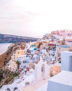 What other towns are as colorful as #Santorini #Greece? Photo by @wanderlustyleblog . . . #10Best #travel #travelstagram #exploringtheglobe #travelblogger #doyoutravel #instapassport #worlderlust #wander #wanderlust #sidewalkerdaily #instatravel #travelawesome #coupletravel #livefolk #globetrotter #instatravel #traveling #travelingtheworld #lifestyleblogger #explore #lifeofadventure #darlingescapes #iamatraveler #thediscoverer #greecetravel