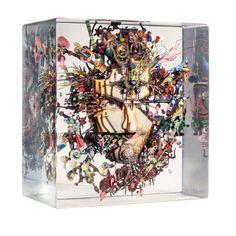 Dustin Yellin: Out of the Box - HarpersBAZAAR.com