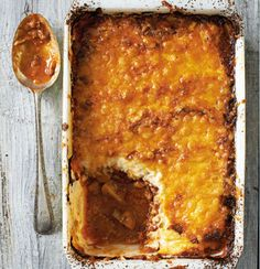 Beef and cauli mash shepherds pie