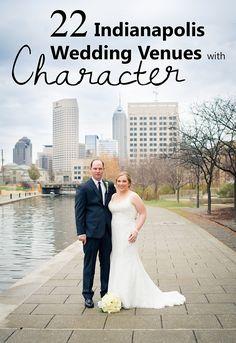 22 Unique Wedding Venues in Indianapolis, IN