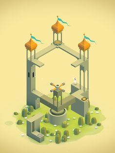 Monument Valley 2 is an illusory adventure of impossible architecture and forgiveness by ustwo games Mc Escher, Web Design, Game Design, Flat Design, Urban Design, Graphic Design, Monument Valley App, Ustwo Games, Arcade