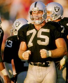 Probably my favorite Raider in history... had a motor that didn't quit, tough as they come, and a RAIDER to the core. Howie Long.  You may have seen him on Radio Shack commercials and on FOX NFL Sundays.