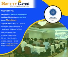 Looking to gain the most popular #safety qualification? The #NEBOSH #Certificate is just for you: http://bit.ly/NEBOSH_TrainingProgram Register for our next batch before 30th April 2016.