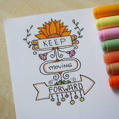 Day 30 двигаться/ to move Bullet Journal Quotes, Bullet Journal Ideas Pages, Bullet Journal Inspiration, Doodle Drawings, Doodle Art, Doodle Quotes, Hand Lettering Quotes, Drawing Quotes, Copics