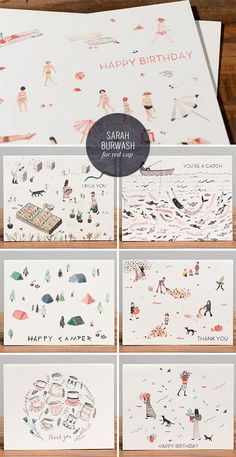 Sarah Burwash for Red Cap Cards on @Kristen - Storefront Life - Storefront Life - Storefront Life Magee