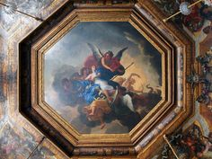 Chateau Vaux-le-Vicomte, Chamber Of Muses.