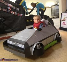 Marty McFly - Cute DIY Baby Costume