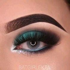 Smoky Eye Makeup, Makeup Eye Looks, Eye Makeup Art, Eyebrow Makeup, Pretty Makeup, Eyeshadow Makeup, Beauty Makeup, Eyeliner, Makeup Eyes