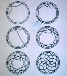 Nature Dream Catcher Instructions.... it is NOT hard, you just keep weaving.... dorm kids beach camping craft activity