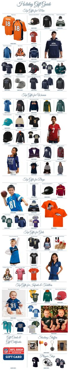 Check out the Holiday Gift Guide from NFL Shop: http://www.nflshop.com/pages/Holiday_Gift_Guide/source/ak1933nfl-pin-giftguide-12513