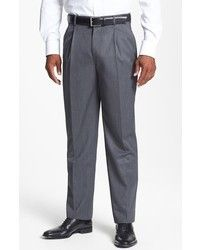 Jil Sander Tech Chino Bruce Trousers Grey. Buy for $660 at Barneys Warehouse.