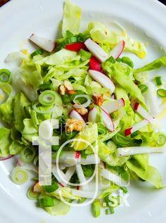 Jarní ředkvičkový salát