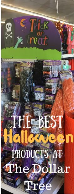The Dollar Tree has some of the BEST holiday supplies - here are the best Halloween products that you can buy at the Dollar Tree! via @clarkscondensed