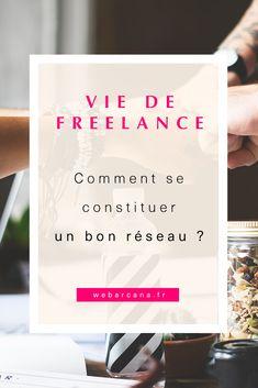 Lorsque l'on travaille en freelance, il est impératif de se créer un réseau professionnel solide et durable. Je vous propose quelques conseils & astuces pour développer votre réseau ! #freelance #entrepreneur #entrepreneurship