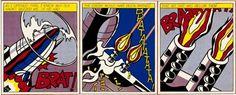 Roy Lichtenstein   American (1923-1997), As I Opened Fire