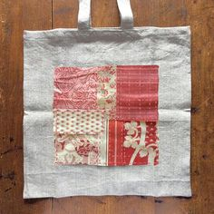 Our Boro Tote Kit is a great way to learn boro patching and sashiko stitching all in one project. The kit includes everything you will need to make up a stitch Embroidery Sampler, Learn Embroidery, Vintage Embroidery, Embroidery Patterns, Sewing Patterns, Shashiko Embroidery, Boro Stitching, French General, Little Stitch