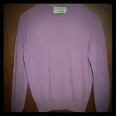 Vintage Pringle Lilac Purple Cashmere Sweater S Vintage Pringle Lilac Purple Scottish Cashmere Crew Neck Soft Sweater Small Pringle  Sweaters Crew & Scoop Necks