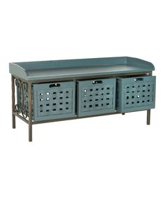 Another great find on #zulily! Navy Gulliver Storage Bench #zulilyfinds