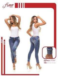Pantalón colombiano Fiara Jeans  +Modelos en: http://www.ropadesdecolombia.com/index.php?route=product/category&path=112  #pantalones #jeans #pantalonescolombianos #pantalon