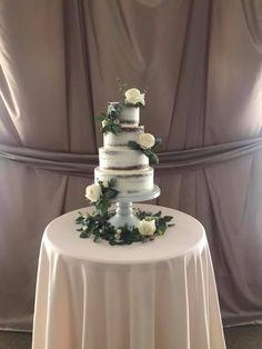 Naked tiered wedding cake. Naked Cake. Naked. Wedding Cake Trends. Wedding Trends. Wedding Planning. Rustic Wedding. Boho Wedding. Bride To Be.