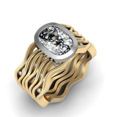 Davidson and Company - Brilliant Waves 2.25ct Diamond Custom Engagement Ring