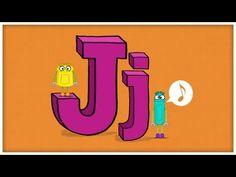 ABC Song: The Letter J  #Education #Kids #Alphabet #Language #ABC