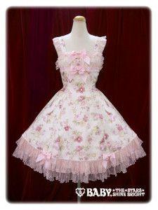Old Rose JSK (Pink - Baby, the Stars Shine Bright