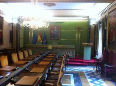 Salón de Plenos del Ayuntamiento de Oviedo