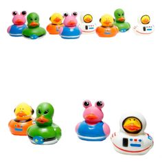 Amazon.com: Fun Express 12 Astronaut Space Alien Rubber Ducks: Toys & Games