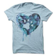 Watercolor Heart Blue Version T Shirts, Hoodies. Check price ==► https://www.sunfrog.com/Pets/Watercolor-Heart--Blue-Version.html?41382 $21