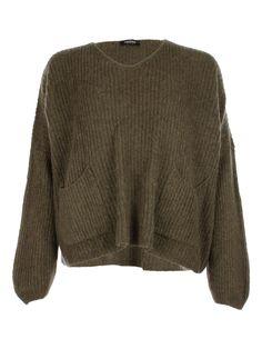 2 Pocket Knit Army - Jenterommet Army, Pullover, Pocket, Knitting, Sweaters, Black, Fashion, Gi Joe, Moda