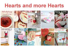 Heart and more Heart - Bunch of GREAT Valentine's Day Tutorials