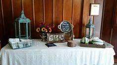 Welcome Table #wedding Photo Gallery - Chandelier Ballroom