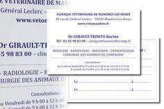Carte De Visite Recto Verso Format 100x70mm