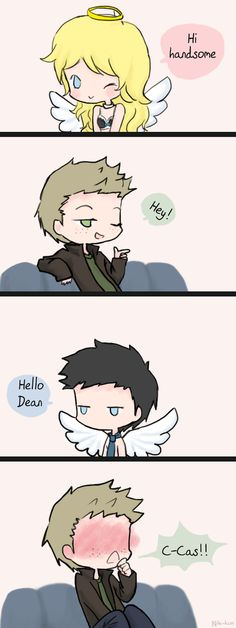 Hey Cas by Nile-kun.deviantart.com on @deviantART
