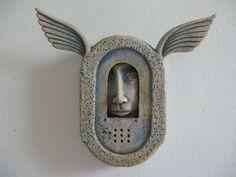 Winged Box - by Alasdair Neil & Sally MacDonell Ceramics