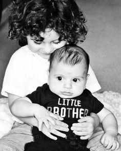 Little Nikolaki and his big brother Ahileas