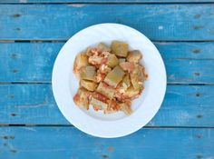 Summer Squash Mediterranean style squash with my mums recipe. Crispy, practical and healthy!