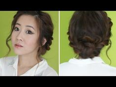 3 Min Twisted Updo, BubzBeauty posted this very simple yet classic hair tutorial a few days ago that we just had to share. It takes only three minutes and is perfect for school, work, and social occasions. It can look casual or fancy depending on your outfit and it helps with frizzy bad hair days. Is there anything that this hairstyle isn't good for?