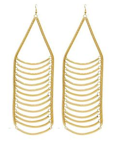Up the Ladder Chain Earrings - Krimson and Klover a Women's Clothing Boutique