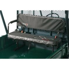 Double your seating capacity with the UTV Jump Seat that comfortably accommodates two adults. Seat is equipped with safety belts. The Jump Seat must be installed to face the rear of the vehicle. Bench Seat Pads, Bench Seat Covers, Bench Cushions, Outdoor Sofa, Outdoor Living, Utv Accessories, Yamaha Viking, Painted Stools, Leather Chaise Lounge Chair