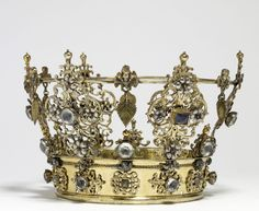 Swedish wedding crown from the 18th century
