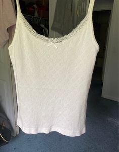 Best Brand, Brandy Melville, White Tops, Basic Tank Top, Im Not Perfect, Tank Tops, Clothing, How To Wear, Women