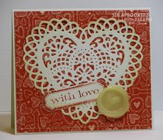 Scrapbooker's Paradise Blog: Technique Tuesday - Sealed with Love