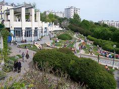 Parc de Belleville, Paris 20e