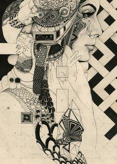 http://www.arijmoka.tumblr.com/ septagonstudios:  A R I J M O K A Perfect Darkness