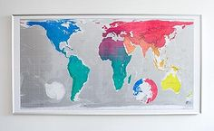 super sized and colorful - future map