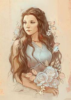 Gorgeous Margaery Tyrell Fanart