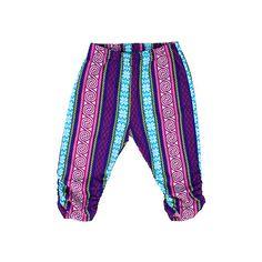 Pants STRIPES PINK – Pan Pantaloni Summer Tribes 2015 collection for kids, light cotton pants. #fashion #kids #natural #summer #grandbazaar