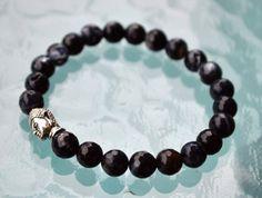 A personal favorite from my Etsy shop https://www.etsy.com/listing/241357631/black-onyx-jade-wrist-mala-beads-healing